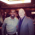 Me and Glenn Morshower after his presentation